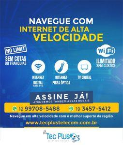 O SEU PLANO DE INTERNET